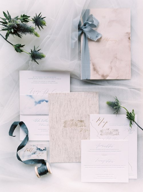 Sea and Sand Invitation Suite