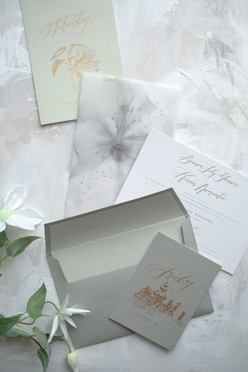 Bianca and Kevin Wedding Invitation