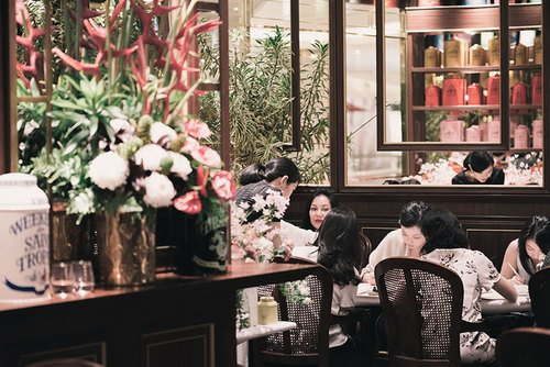 TWG Calligraphy, Tea Tasting & Flower Workshop