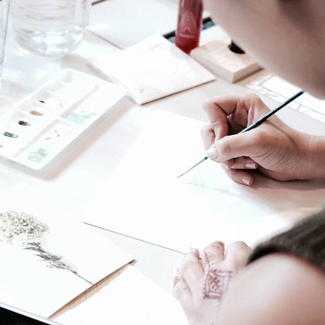 Basic Calligraphy & Botanical Drawing Image Gallery