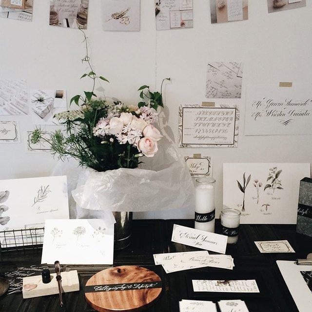 Basic Calligraphy & Lifestyle Image Gallery