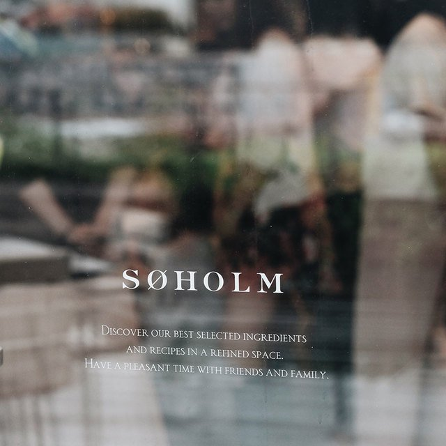 Modern Calligraphy at SØHOLM Image Gallery