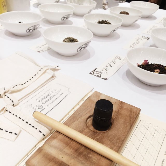 Tea, Calligraphy, Flower  Image Gallery
