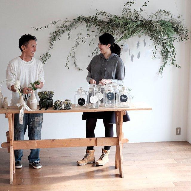 Flower Noritake & Calligraphy  Image Gallery
