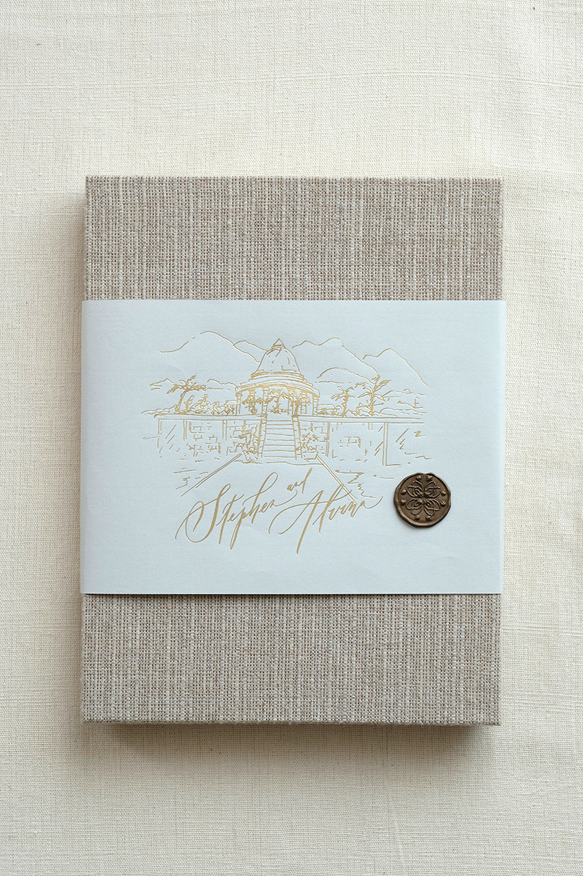Alvina and Steven Invitation Suite gallery image