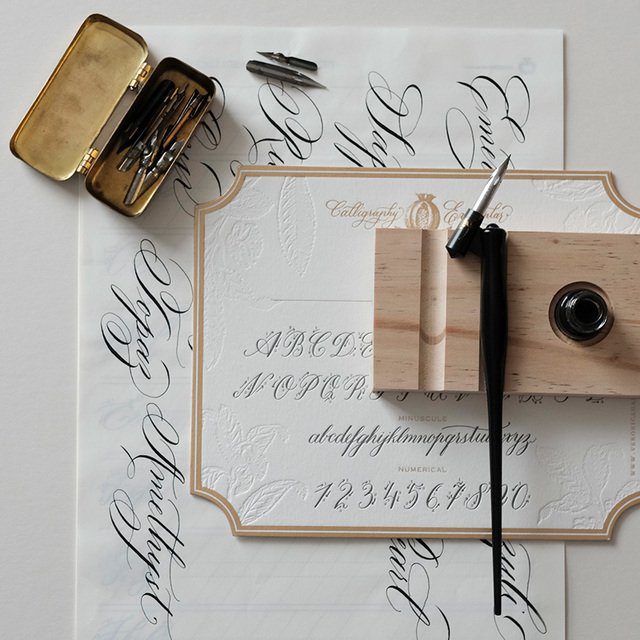 Basic Copperplate and The Art of Origata Image Gallery