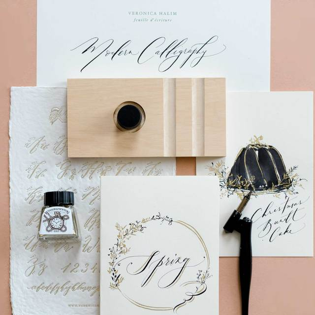 Modern Calligraphy and Illustrative Card Making Image Gallery