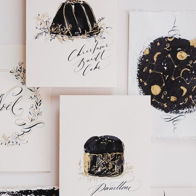 Copperplate Calligraphy and Illustrative Card Making Image Gallery