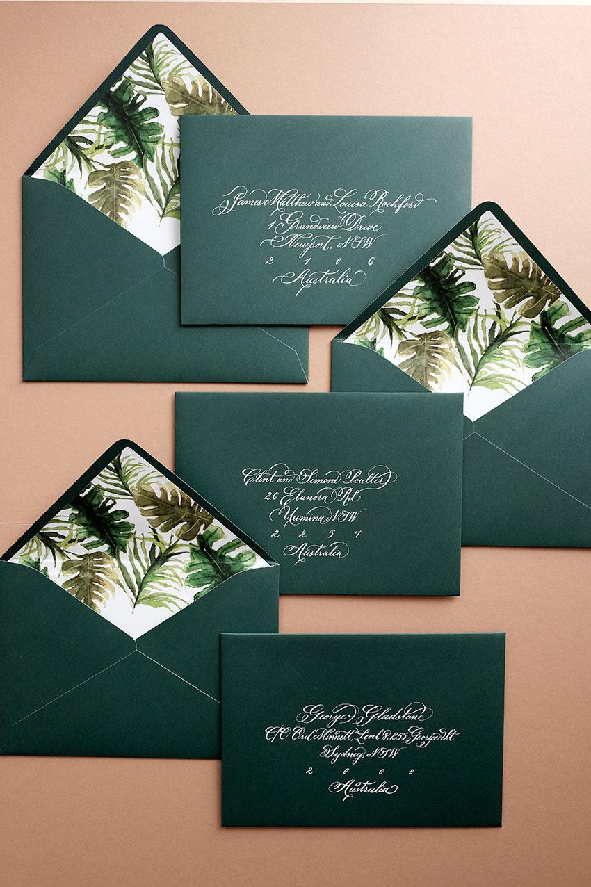 Sophie & James Tropical Flora Wedding
