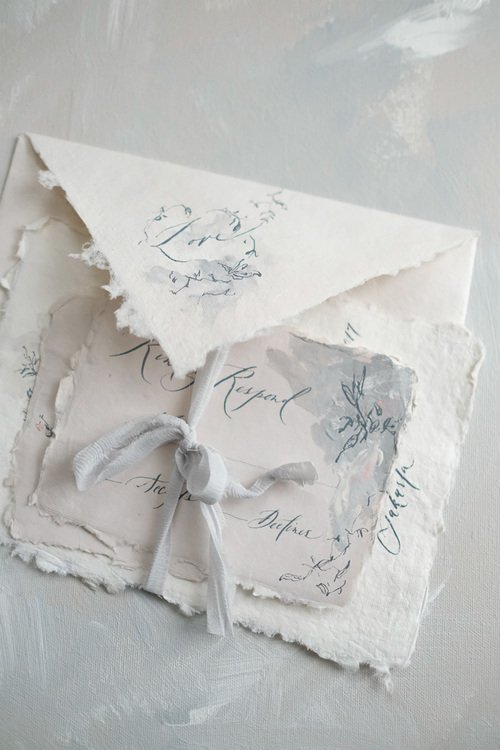 Handmade Invitation Styled Shoot