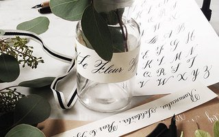 Calligraphy & Flower Arrangement
