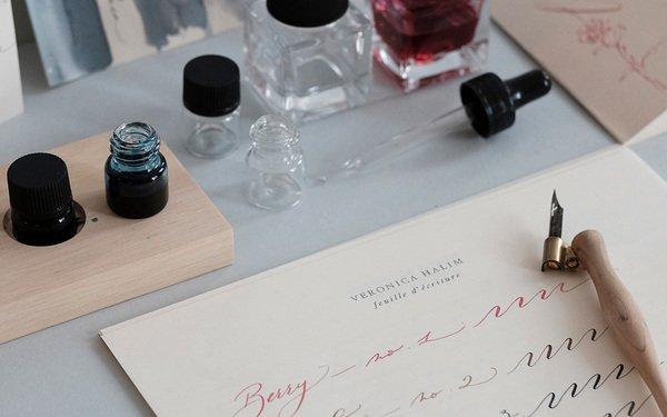 Original Ink Making and Modern Calligraphy Workshop