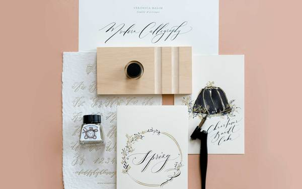 Modern Calligraphy and Illustrative Card Making