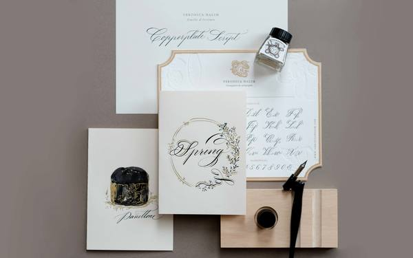 Copperplate Calligraphy and Illustrative Card Making