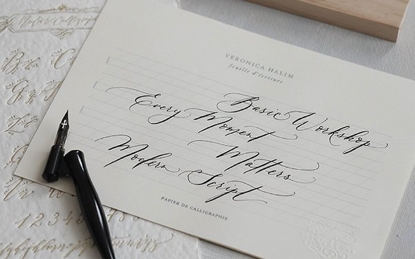 (SOLD OUT) Basic Modern Calligraphy