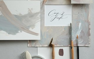 (SOLD OUT) Artistic Frame Making, Painting and Modern Calligraphy
