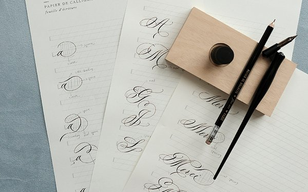 (SOLD OUT) Flourishing Calligraphy