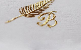 Basic Calligraphy & Gold Foil